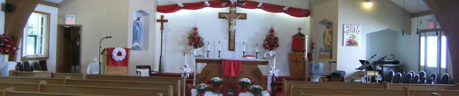 St. Gabriel's Parish header image